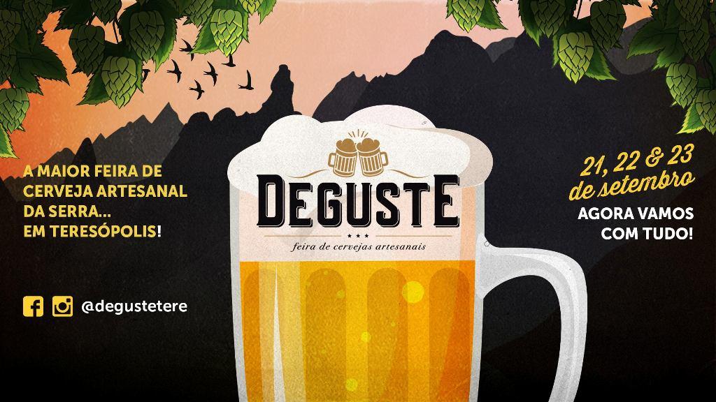 1º Deguste, uma das maiores feiras de Cervejas Artesanais da Serra chega em Terê! Teresópolis RJ