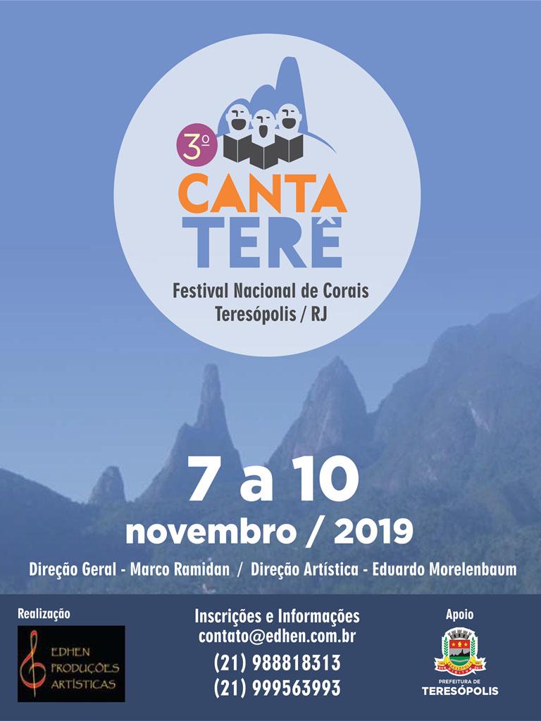 Canta Terê 2019 em Teresópolis-divulgação