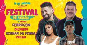 Festival de Verão no Parque de Exposições de Itaipava 2020 – Petrópolis RJ