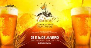Rota Cervejeira RJ- Festival Cerveja das Montanhas 2020 Nova Friburgo