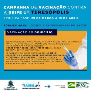 Vacinação em domicílio